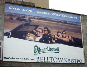 2006 billboard in belltown